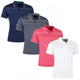8784af76 Callaway Golf Mens X Range Chest Piped Polo Shirt