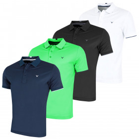 Callaway Mens 2019 Contrast Tipped Golf Polo Shirt
