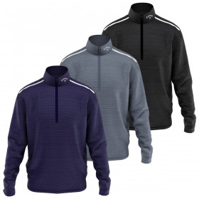 Callaway Golf Mens 2020 Long Sleeve Odyssey 1/4 Zip Golf Sweater