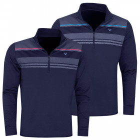 Callaway Golf Mens 2020 Digital Print Chillout Thermal Stretch Sweater