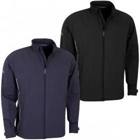 Callaway Golf Mens Full Zip Stretch Water Resistant Wind Jacket