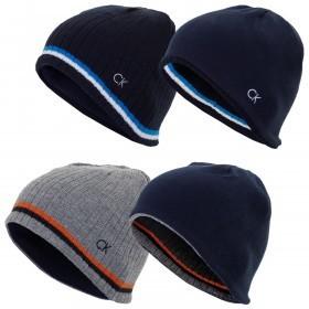 Calvin Klein Golf Mens Reversible Knit Beanie