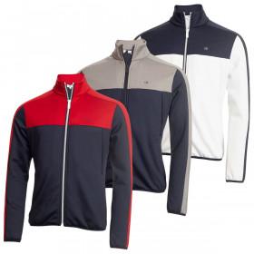 Calvin Klein Golf Mens Atlas Full Zip Sweater