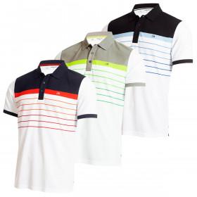 Calvin Klein Mens Flint Wicking Breathable Short Sleeve Golf Polo Shirt