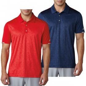 adidas Golf Mens Climachill 2D-Camo Print Polo Shirt
