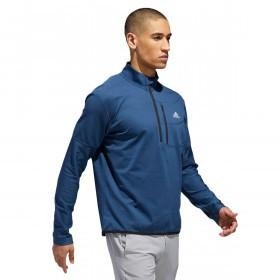 adidas Golf Mens Climawarm Gridded 1/4 Zip Pullover