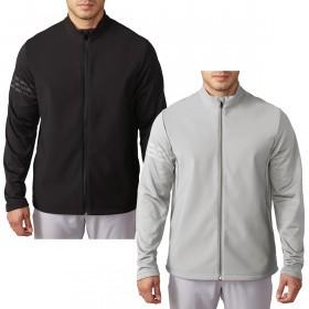 adidas Golf Mens ClimaWarm Hybrid Heathered Jacket