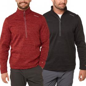 Craghoppers Mens Strata Half Zip Insulating Fleece Sweater