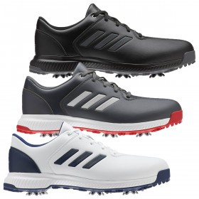 adidas Golf Mens 2019 CP Traxion Water Repellent Lightweight Spiked Golf Shoes