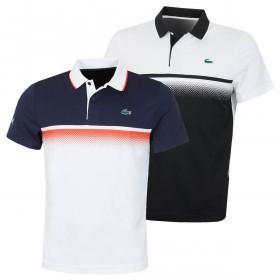 Lacoste Mens 2019 Aspirational  Ribbed Collar Polo Shirt