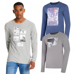 Dare 2b Mens 2019 Industry Tee Long Sleeve Graphic T-Shirt