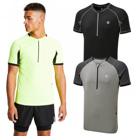 Dare 2b Mens Aces Jersey Wicking Lightweight Cycling T-Shirt