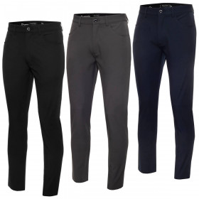 Dwyers & Co Mens 2020 Tech Stretch Slim Performance Light Trousers