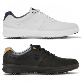 Footjoy Mens 2021 Contour Leather Waterproof Lightweight Golf Shoes