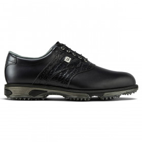 Footjoy Mens DryJoys Tour Lightweight Waterproof Leather Golf Shoes - Wide Fit