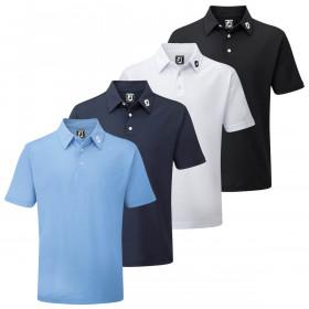 Footjoy 2021 Mens Performance Short Sleeve Ath Moisture Wicking Golf Polo Shirt