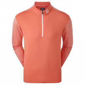 Footjoy Mens Tonal Heather Chill-Out Wicking Golf Midlayer