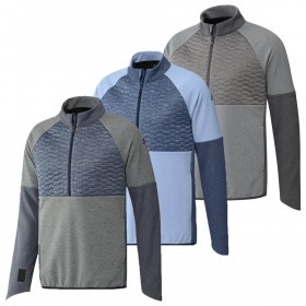 adidas Golf Mens Frostguard 1/4 Zip Jacket