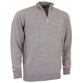 Greg Norman Mens 1/4 Zip Unlined Merino Blend Golf Sweater