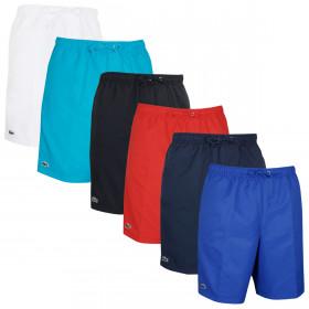 Lacoste Mens 2020 Sport Taffeta Drawstring Fully Lined Tennis Shorts