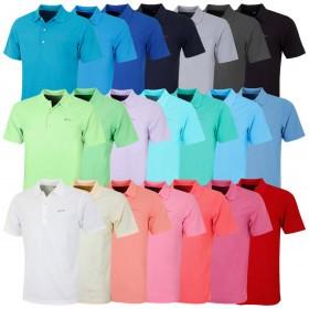 Greg Norman Mens KX04 Performance Micro Pique Golf Polo Shirt