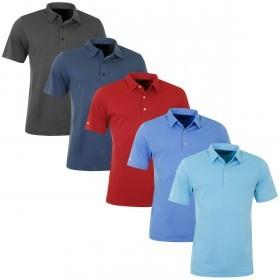Greg Norman Mens Textured Golf Shirt