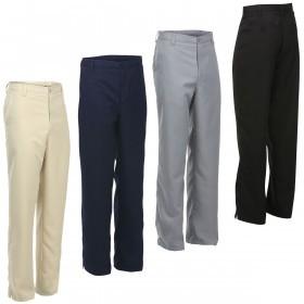 Island Green Mens Straight Leg Formal Golf Trousers