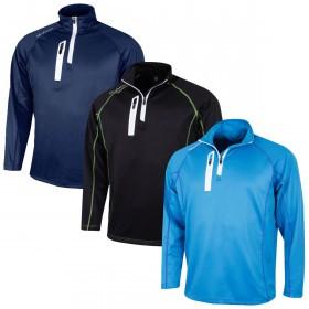 Island Green Mens 2019 Golf IGTOP1877 HZ Contrast Flatlock Sweater