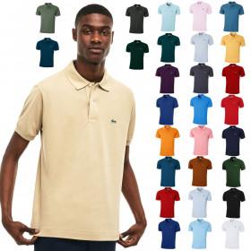 Lacoste Mens 2019 Classic Cotton L1212 Polo Shirt