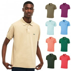 Lacoste Mens Classic Cotton L1212 Short Sleeve Polo Shirt