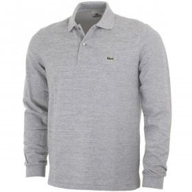 Lacoste Mens 2020 Marl Long Sleeve Polo Shirt