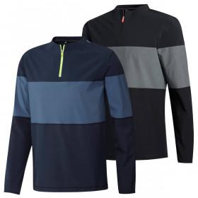 adidas Golf Mens 2020 Lightweight Hi-Stretch Layering 1/4 Zip Sweater