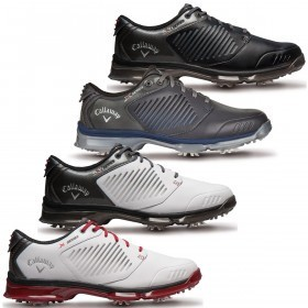 Callaway Golf Mens Waterproof Xfer Nitro Golf Shoes
