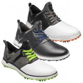 Callaway Golf Mens Apex Lite S Spiked Waterproof Golf Shoes