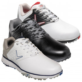 Callaway Golf Mens Chev Mulligan Waterproof Leather Golf Shoes