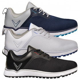 Callaway Golf Mens Apex Lite Storm Guard Opti Vent Spikeless Golf Shoes