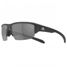 Adidas Eyewear Kumacross Halfrim Sunglasses - Matt Black