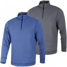 Cutter & Buck Mens DryTec Top Spin Half Zip Pullover