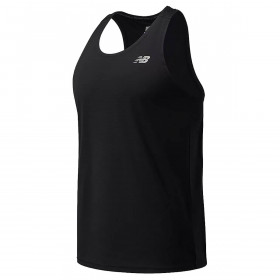 New Balance Mens 2021 Accelerate Quick Dry Recycled Athletic Singlet T-Shirt