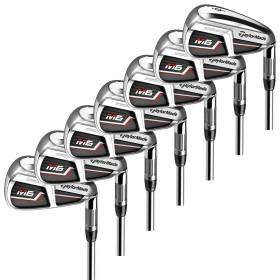 Taylormade Mens Golf 2019 M6 Steel Shaft RH Full Iron Set 5-SW 7 Clubs