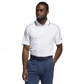 adidas Golf Mens 2021 No Show Performance Side Slits Quick-Dry Polo Shirt