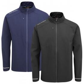 Oscar Jacobson Mens Rowland Lightweight Breathable Showerproof Golf Jacket