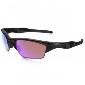 Oakley Sport Mens Half Jacket 2.0 XL Sunglasses - Polished Black/Prizm Golf