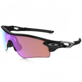 Oakley Mens Radarlock Path Sunglasses Polish Blk/Prizm Golf & Slate Iridium