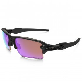 Oakley Sports Mens Flak 2.0 XL Sunglasses - Polished Black/Prizm Golf