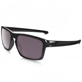 Oakley Sport Mens Sliver Sunglasses - Polished Black/Prizm Daily Polarized