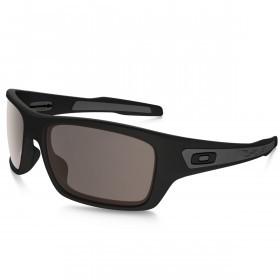 Oakley Sports Mens Turbine Sunglasses - Matte Black/warm grey