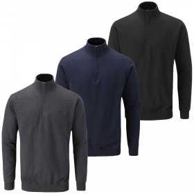 Ping Collection Mens Garner Half Zip Lined Sweater