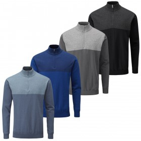 Ping Collection Mens Knight Lined Merino Mix Golf Sweater