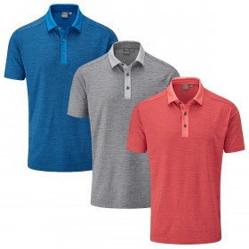 Ping Collection Mens 2019 Chandler Golf Polo Shirt